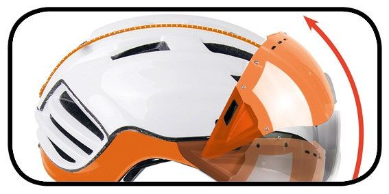 Flip-Up SPEEDmask